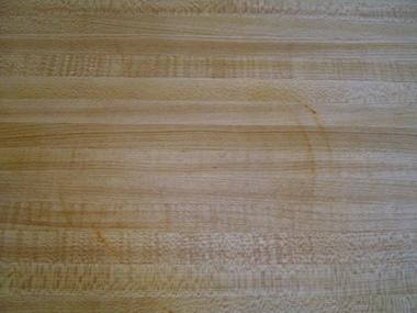 burned laminate countertop