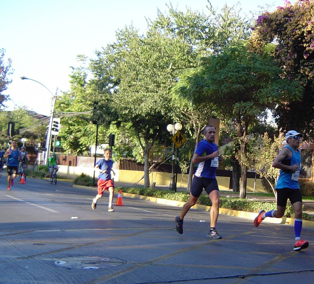Santiago Marathon bandit